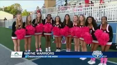 Week 8: Wayne Warriors Cheerleaders
