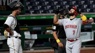 Reds face Pirates after win over Cardinals