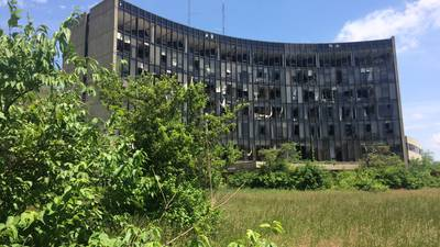 Former old Reid Hospital site owner settles delinquent property tax lawsuit with Wayne Co. for $75k