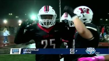 Week 10: Wayne defeats Centerville 42-21