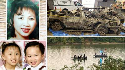 Human remains found in submerged SUV of missing Ohio mom, 2 kids recovered after nearly 20 years