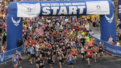 Virtual 2021 Air Force Marathon packets available for pick-up