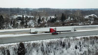 Flash freeze leads to morning crashes in Miami Valley