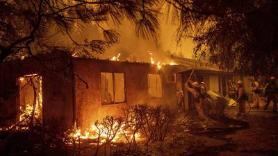 California fires: 'It's terrifying' says Springfield native living in Malibu