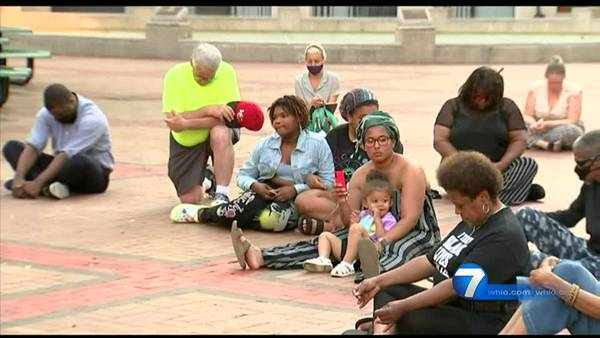 One Year Later: Community honors George Floyd's memory, holds candlelight vigil