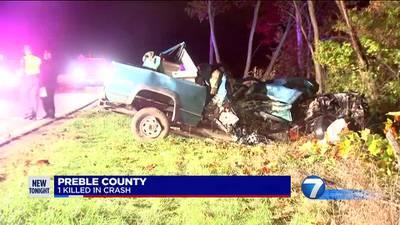 Preble County fatal crash