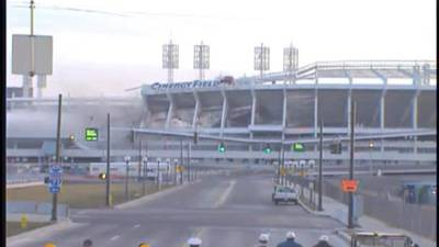 On this date: Riverfront Stadium demolished in 2002