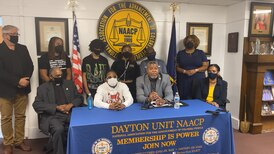 Dayton NAACP, Clifford Owensby speak about DPD traffic incident