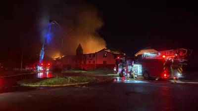 Crews responding to fire in Trotwood