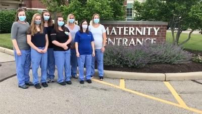 9 UVMC OB nurses pregnant at the same time