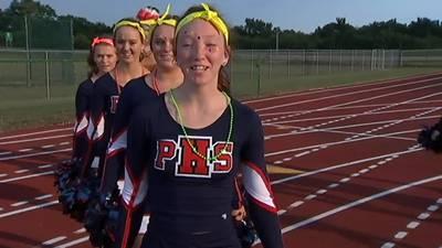 Piqua Cheerleaders of the week Touchdown 7 Week 3