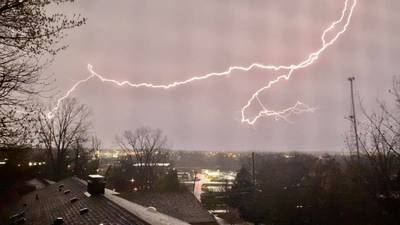 PHOTOS: Viewer submitted pictures from overnight Thunderstorm