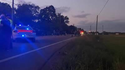 Motorcyclist injured in Clark County crash
