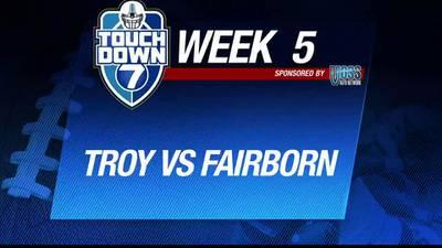 Week 5: Troy blanks Fairborn 55-0