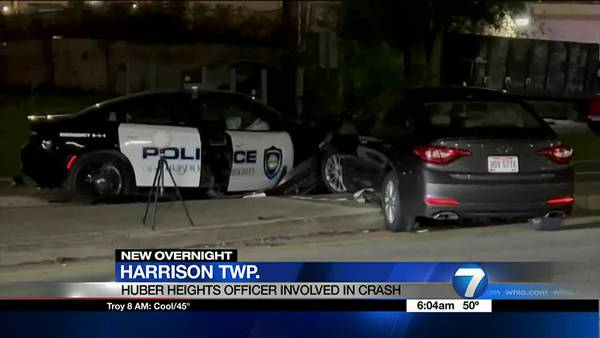 2 officers among 3 injured when cruiser crashes during pursuit that reached over 100 mph