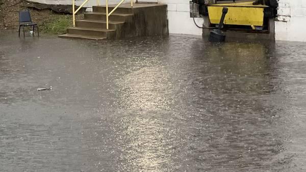 PHOTOS: Heavy rain brings flooding to Miami Valley