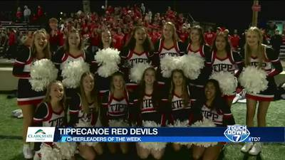 Week 6: Tippecanoe Red Devils Cheerleaders