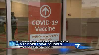 Mad River Local Schools provides free COVID-19 vaccination clinic