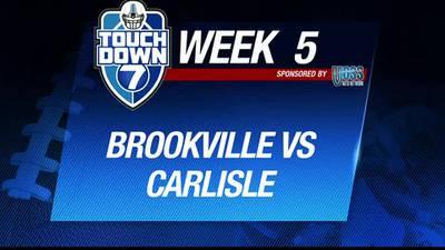 Week 5: Brookville beats Carlisle 42-0