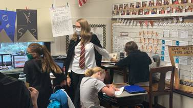 PHOTOS: Troy school Harry Potter classroom