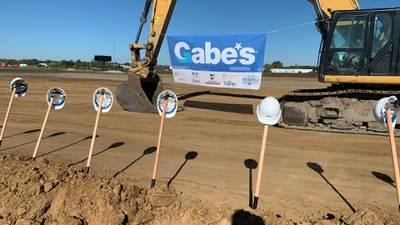 Gabe's breaks ground on new distribution center near Springfield