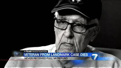 I-Team: Veteran at center of ER visit reform dies without full court ordered VA refund