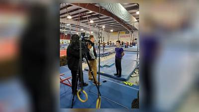 Dayton Christian 8th grader uses gymnastics to help cope with Tourette Syndrome, shares his story to help others