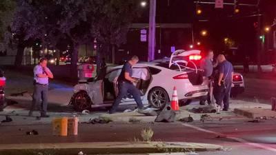 Medics respond to crash in Dayton