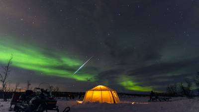 What causes the 'Northern Lights'