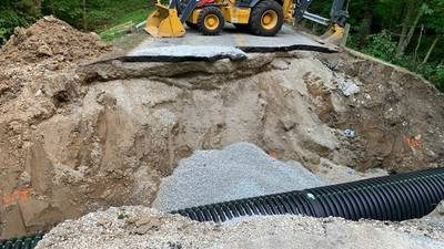 Seven inches of rain in four hours? A recipe for road damage, leaders say