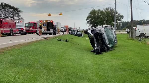 UPDATE: Miami County man dies from his injuries after 2-vehicle crash in Darke County