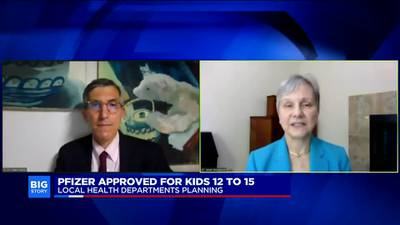 How quickly could 12-15 year olds be vaccinated?