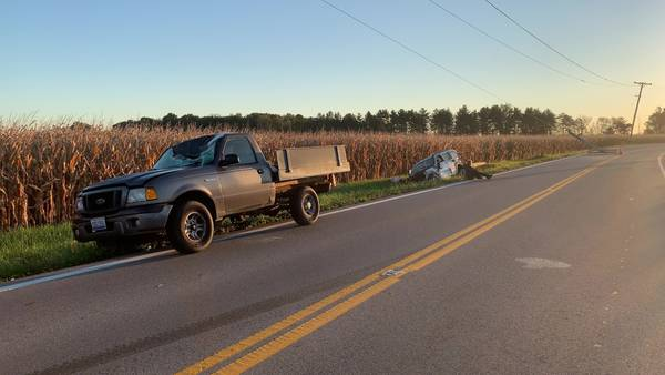 'Thankfully I am alive;' Distracted driving investigated as factor of Greene Co. crash Wednesday