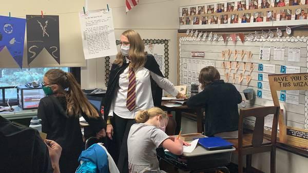 Troy elementary teacher turns classroom in mini-Hogwarts