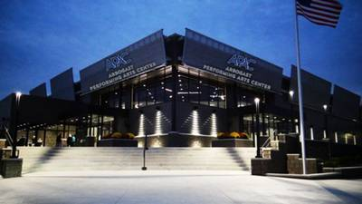 Ribbon cutting today for new Arbogast Performing Arts Center