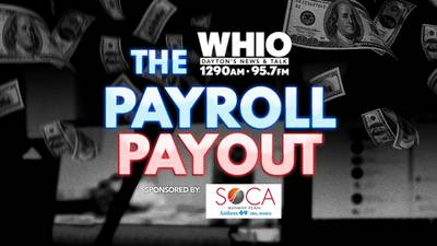 WHIO Radio's Payout Contest is here and you could win $1,000!