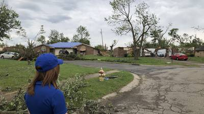 PHOTOS: McCall Vrydaghs looks back on year of tornado recovery