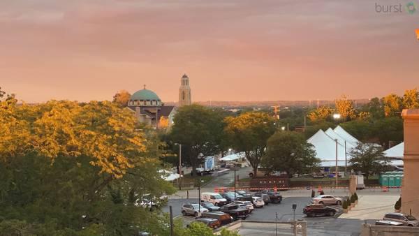 PHOTOS: Beautiful October sunrises + sunsets