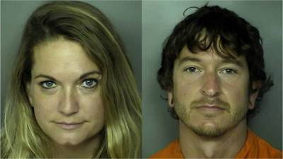 Couple who made porn film on ride arrested for sex acts in photo booth