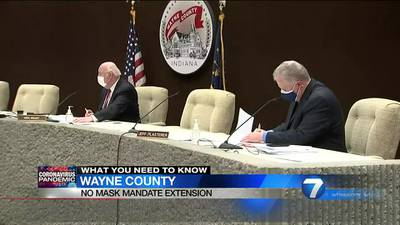 Wayne County, Ind. commissioners vote unanimously against county-wide mask mandate