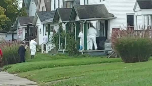 VIDEO: Springfield warrant on North Douglas Avenue