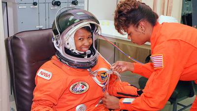 Meet astronaut Dr. Mae Jemison, the one-time 'Star Trek' actress who beat William Shatner to space