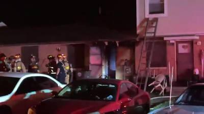 Crews extinguish fire at Dayton apartment