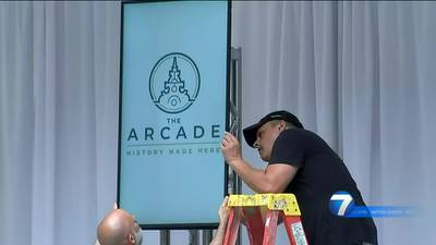 Dayton Arcade opens to public during downtown festival this weekend