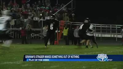 Week 10: Graham's Caden Strader creates a TD out of busted play